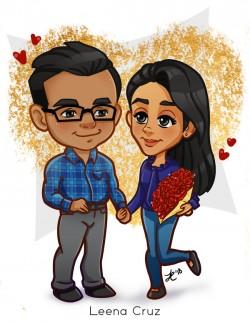 Couple_Love_Red_Flowers_Leena_Cruz_Valentine
